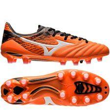 Mizuno Morelia Neo II FG - Oranje/Wit/Zwart