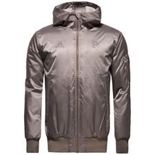 adidas bomber jacket pogba capsule collection season ii - brown limited edition - jackets
