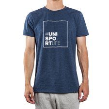 unisportlife summer breeze collection t-shirt #elcastillo - blue - t-shirts