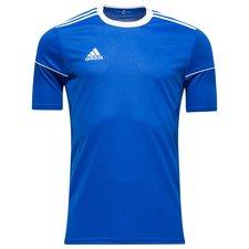 adidas spilletrøje squad 17 - blå/hvid børn - fodboldtrøjer