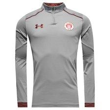 st. pauli training shirt 1/4 zip - grey - training tops