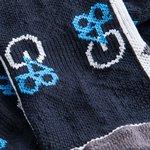 g48 grip sokker - navy - fodboldsokker