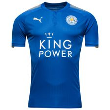leicester city home shirt 2017/18 - football shirts