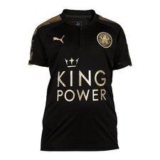 leicester city udebanetrøje sort 2017/18 - fodboldtrøjer