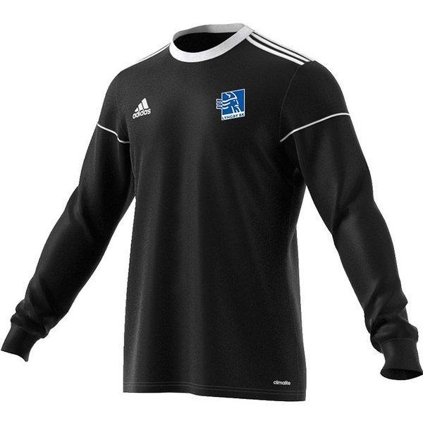 lyngby bk - målmandstrøje sort 2008 m. invita - fodboldtrøjer