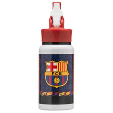 barcelona drikkedunk aluminium - rød/blå - drikkedunk