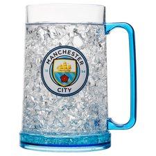 manchester city krus plastik - blå - merchandise