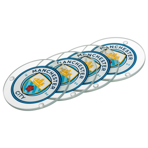 manchester city glas bordskåner - merchandise