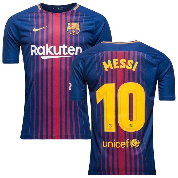 barcelona heimtrikot 2017/18 messi 10 - fußballtrikots