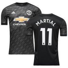 manchester united udebanetrøje 2017/18 martial 11 - fodboldtrøjer