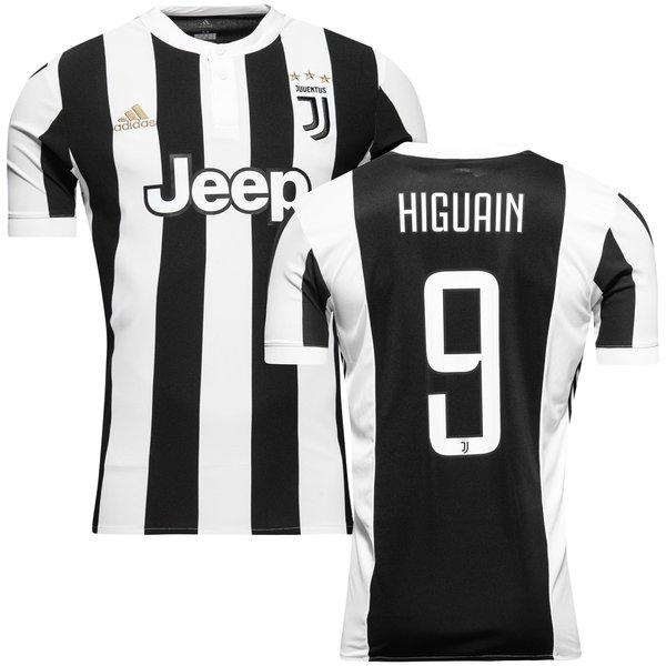 juventus hjemmebanetrøje 2017/18 higuaín 9 - fodboldtrøjer