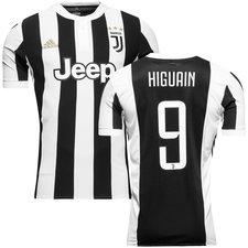 juventus home shirt 2017/18 higuaín 9 - football shirts