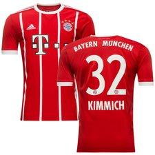 bayern münchen hjemmebanetrøje 2017/18 kimmich 32 børn - fodboldtrøjer