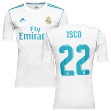 real madrid home shirt 2017/18 isco 22 - football shirts