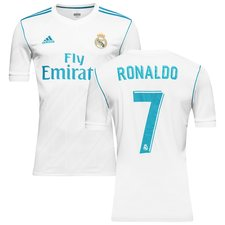 real madrid home shirt 2017/18 ronaldo 7 kids - football shirts