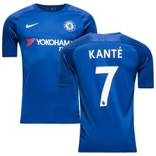 chelsea home shirt 2017/18 kanté 7 - football shirts