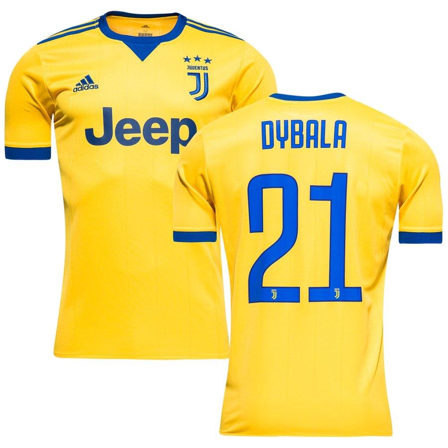 Juventus maillot ext rieur 2017 18 dybala 21 enfant www for Maillot exterieur juventus