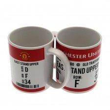 manchester united mug - merchandise