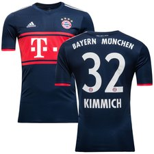 bayern münchen udebanetrøje 2017/18 kimmich 32 - fodboldtrøjer