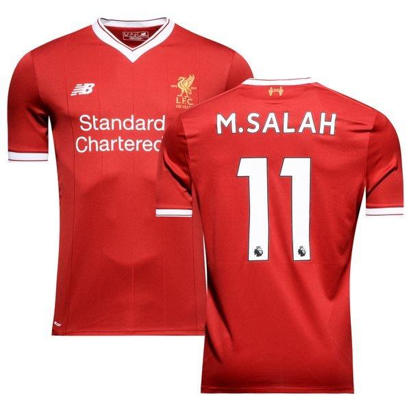 low priced afe1f c0829 Liverpool Home Shirt 2017/18 M.SALAH 11 Kids   www ...