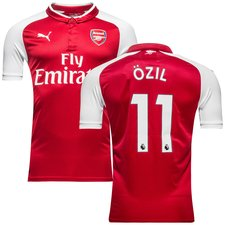arsenal home shirt 2017/18 özil 11 kids - football shirts