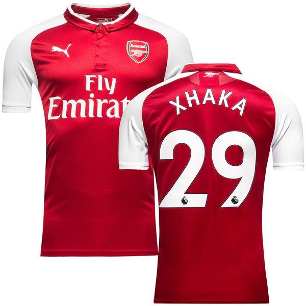 arsenal hjemmebanetrøje 2017/18 xhaka 29 børn - fodboldtrøjer