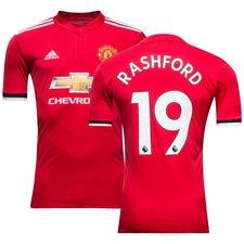 manchester united hemmatröja 2017/18 rashford 19 - fotbollströjor