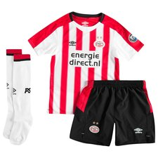 psv eindhoven home shirt 2017/18 mini-kit - football shirts