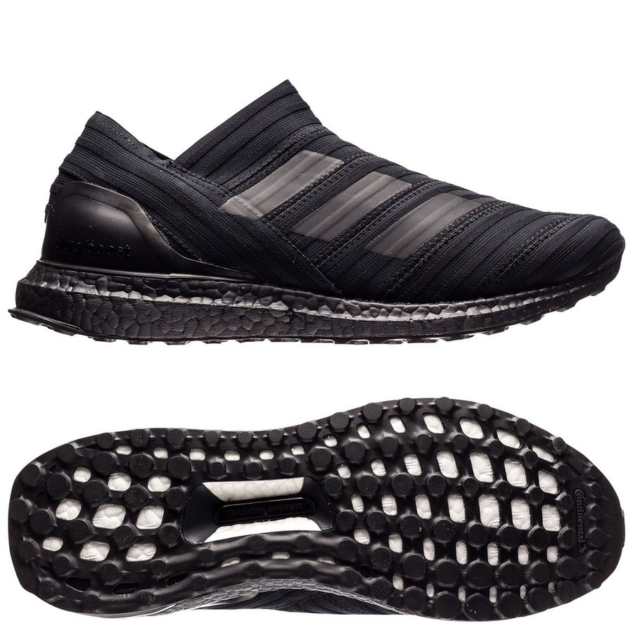 low priced 85549 542d8 nemeziz 17+ 360agility trainer ultra boost magnetic storm - core black  limited edition - sneakers ...