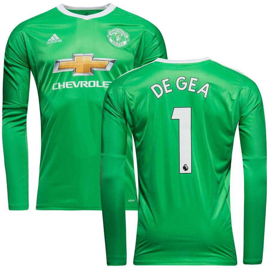 f7bad5edfb1 Manchester United Goalkeeper Shirt Away DE GEA 1 2017 18 Kids