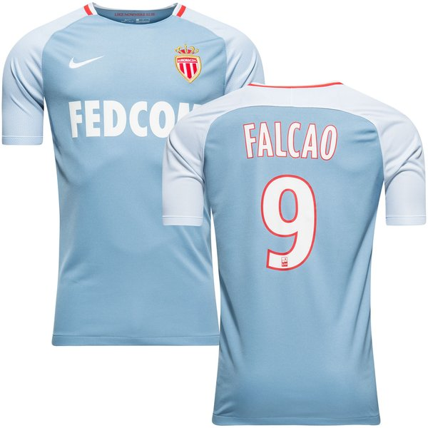 as monaco udebanetrøje falcao 9 2017/18 børn - fodboldtrøjer
