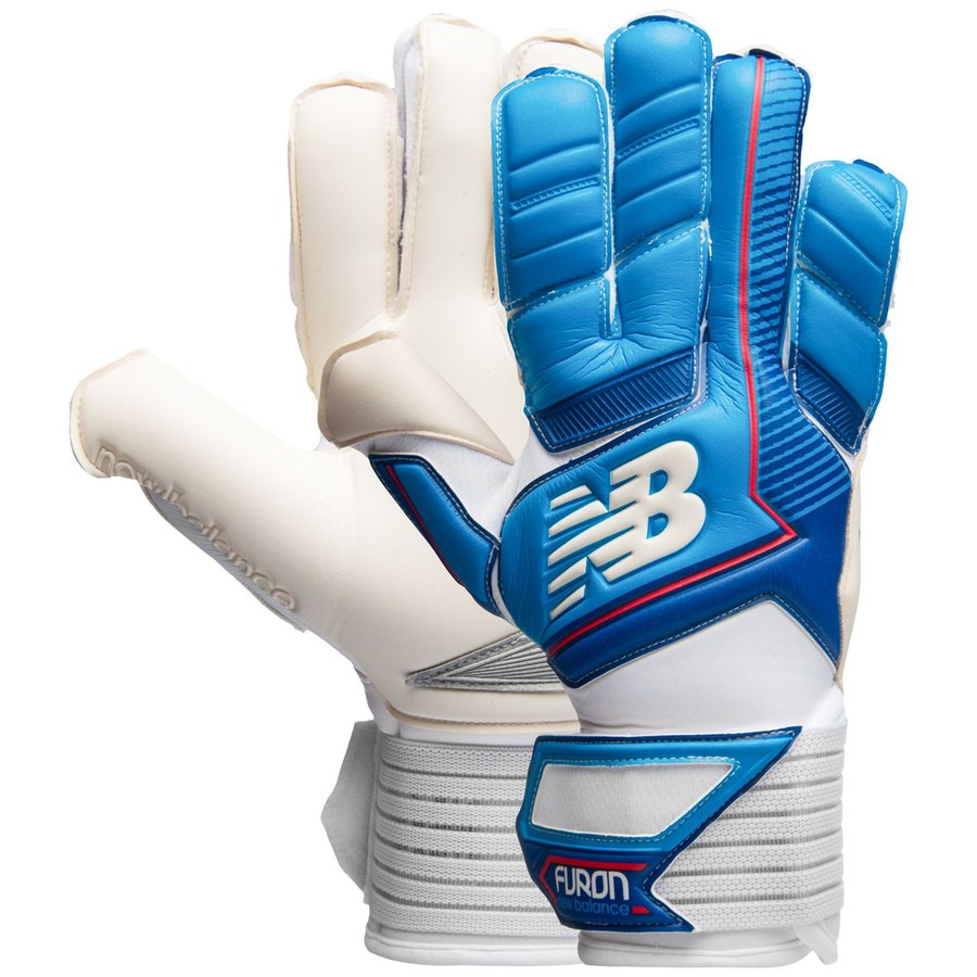 new balance goalkeeper gloves furon destroy 2017 - blue white - goalkeeper  gloves ... 72d01a25e