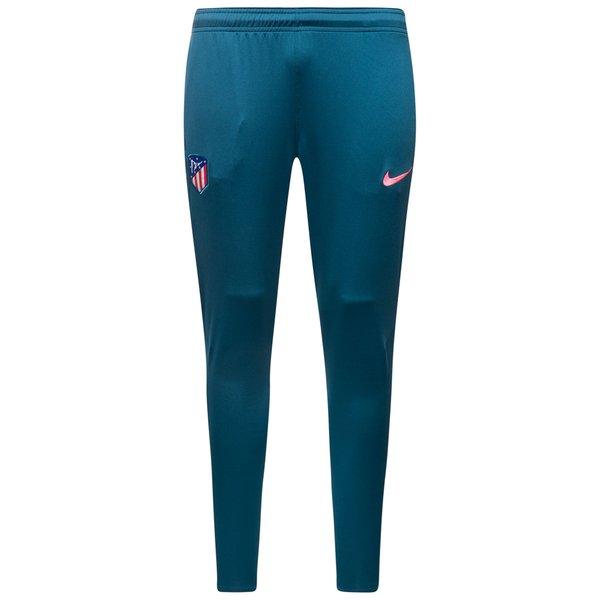 atletico madrid trainingshose dry squad - blau/pink kinder - trainingshosen