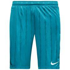 nike shorts squad - blå/orange/hvid - træningsshorts