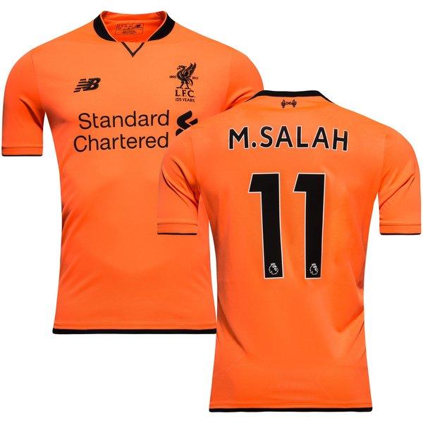 detailed look 9760f cc554 Liverpool Third Shirt 2017/18 M.SALAH 11   www.unisportstore.com