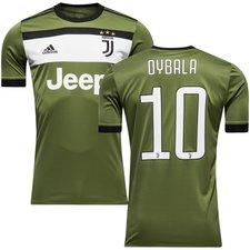juventus 3. trøje 2017/18 dybala 10 børn - fodboldtrøjer