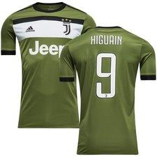 juventus 3. trøje 2017/18 higuaín 9 børn - fodboldtrøjer
