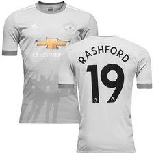 manchester united 3. trøje 2017/18 rashford 19 - fodboldtrøjer