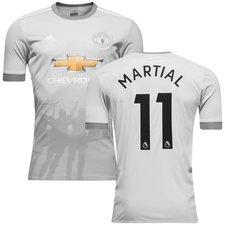manchester united 3. trøje 2017/18 martial 11 børn - fodboldtrøjer