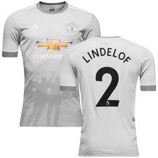 manchester united 3. trøje 2017/18 lindelof 2 - fodboldtrøjer