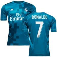 real madrid 3. trøje 2017/18 ronaldo 7 - fodboldtrøjer