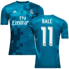 real madrid 3rd shirt 2017/18 bale 11 kids - football shirts