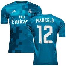 real madrid 3. trøje 2017/18 marcelo 12 børn - fodboldtrøjer