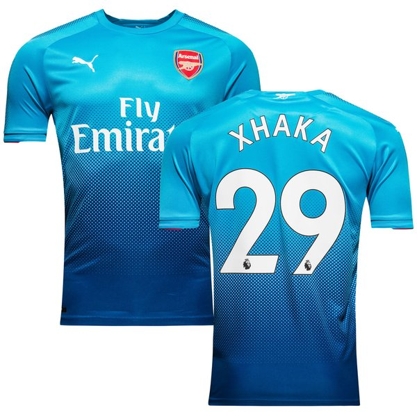 arsenal udebanetrøje 2017/18 xhaka 29 - fodboldtrøjer