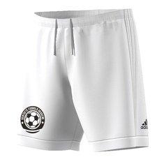 gentofte fodbold akademi - hjemme-/udebaneshorts hvid - fodboldshorts