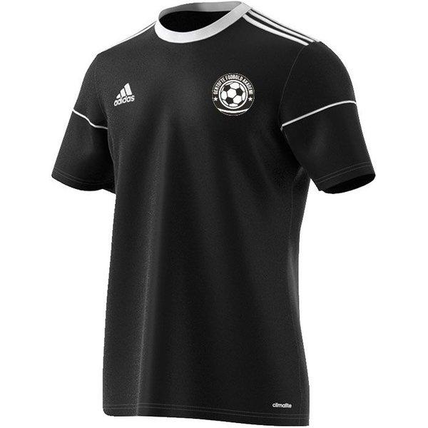 gentofte fodbold akademi - udebanetrøje sort - fodboldtrøjer