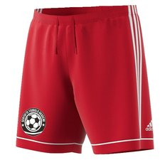 gentofte fodbold akademi - målmandsshorts rød - fodboldshorts