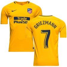 atletico madrid udebanetrøje 2017/18 griezmann 7 - fodboldtrøjer