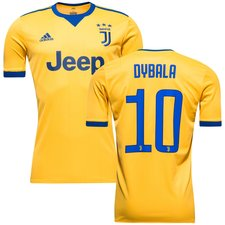 juventus away shirt 2017/18 dybala 10 kids - football shirts