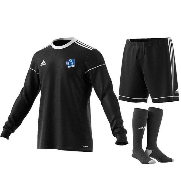 lyngby bk  målmandssæt sort årgang 2013 - fodboldtrøjer